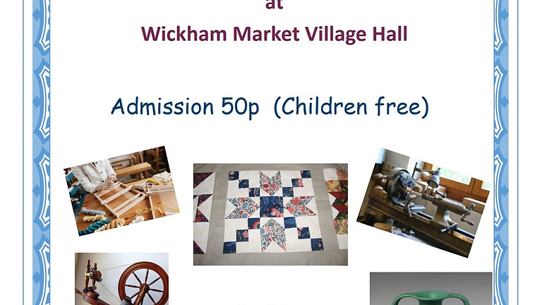 Craft Fair at Wickham Market Village Hall