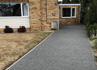 Resin Driveways enhance the look of your home