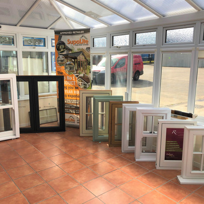 Window, double glazing display