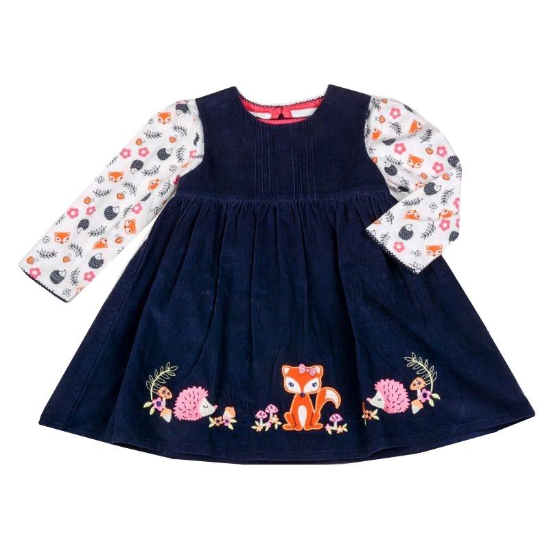 Fox & Hedgehog Dress & Top