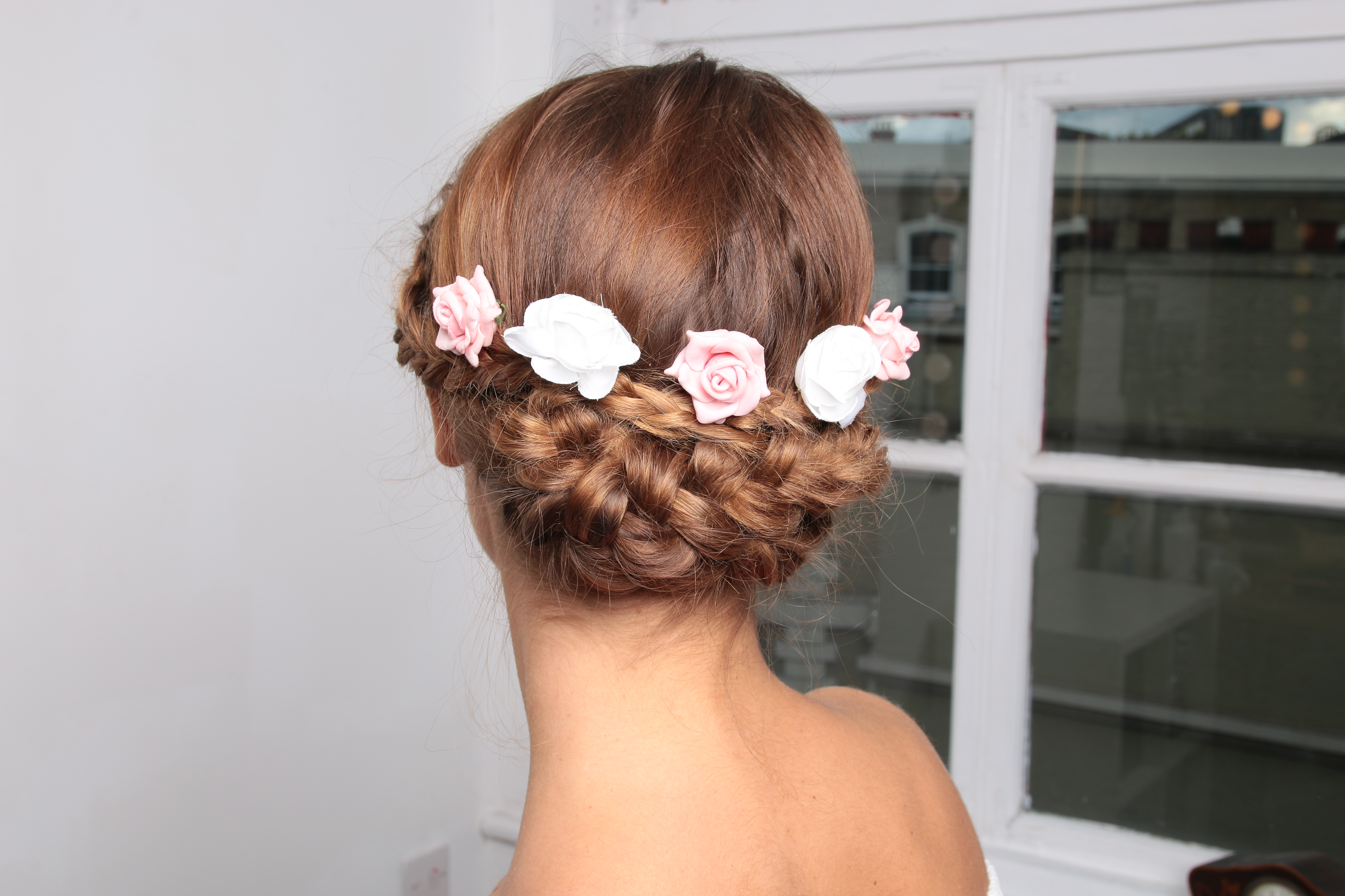 Bridesmaid Flower Hair