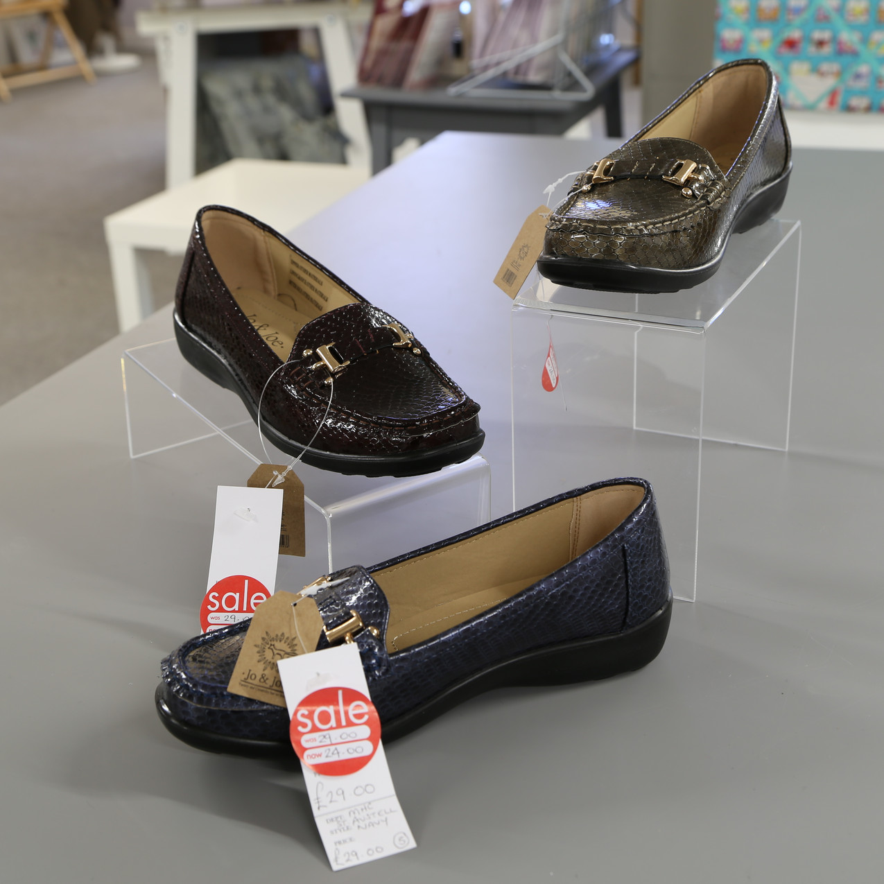 Loafers from £29 to £24