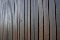 Beautiful hardwood exterior