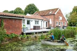 The Riverside, Letheringham Mill