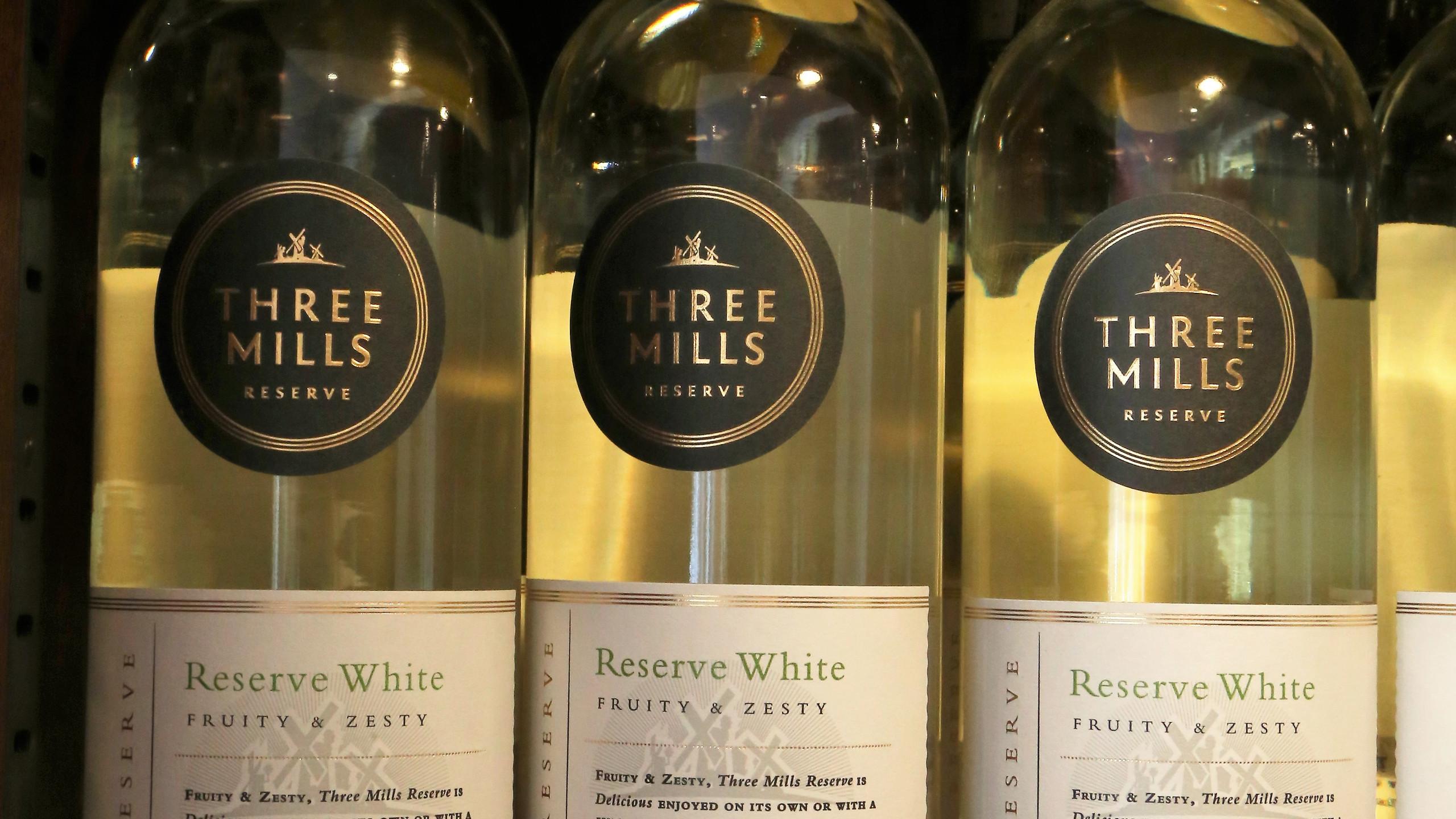 Three Mills white reserve