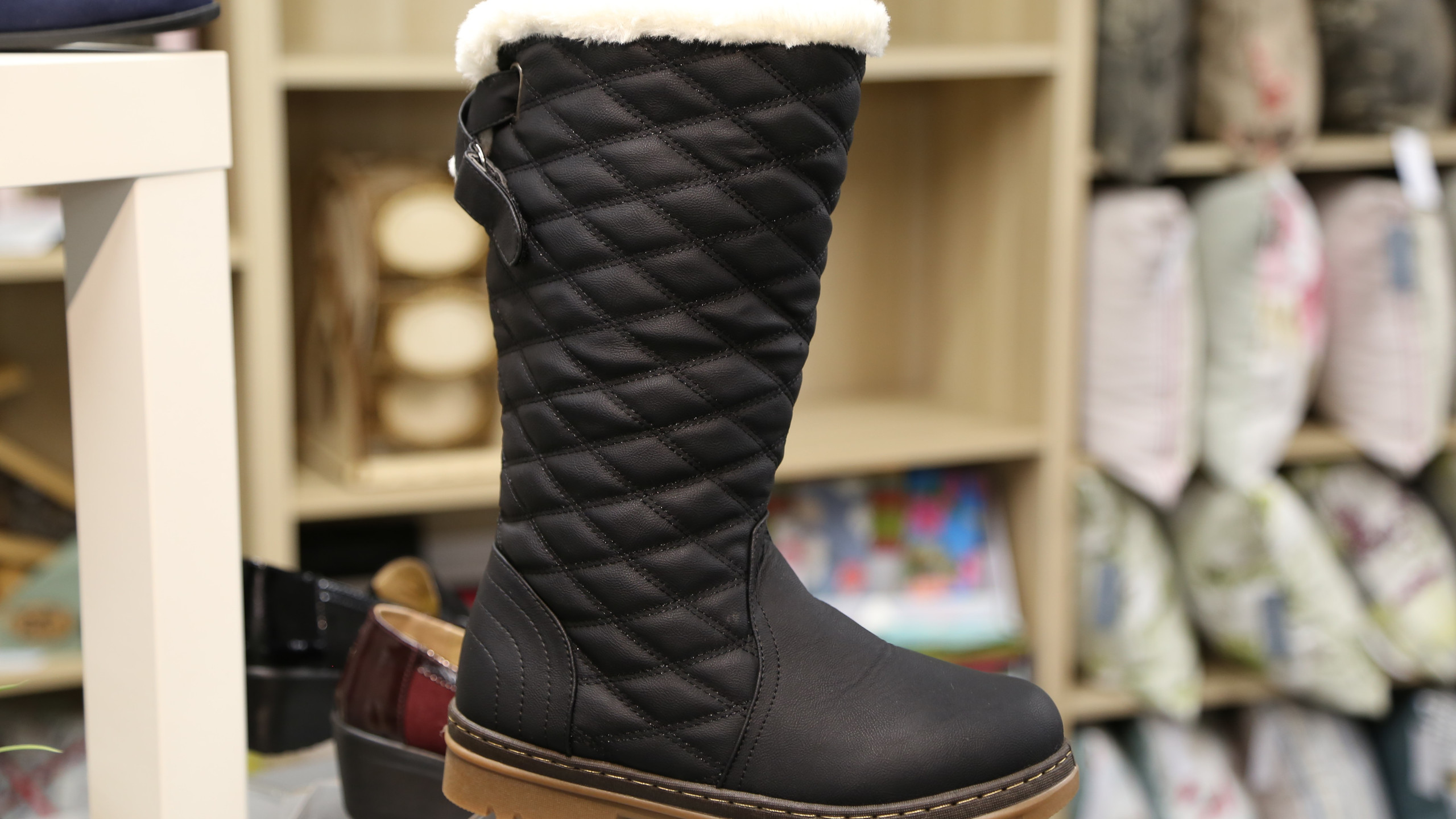 High black boot £39