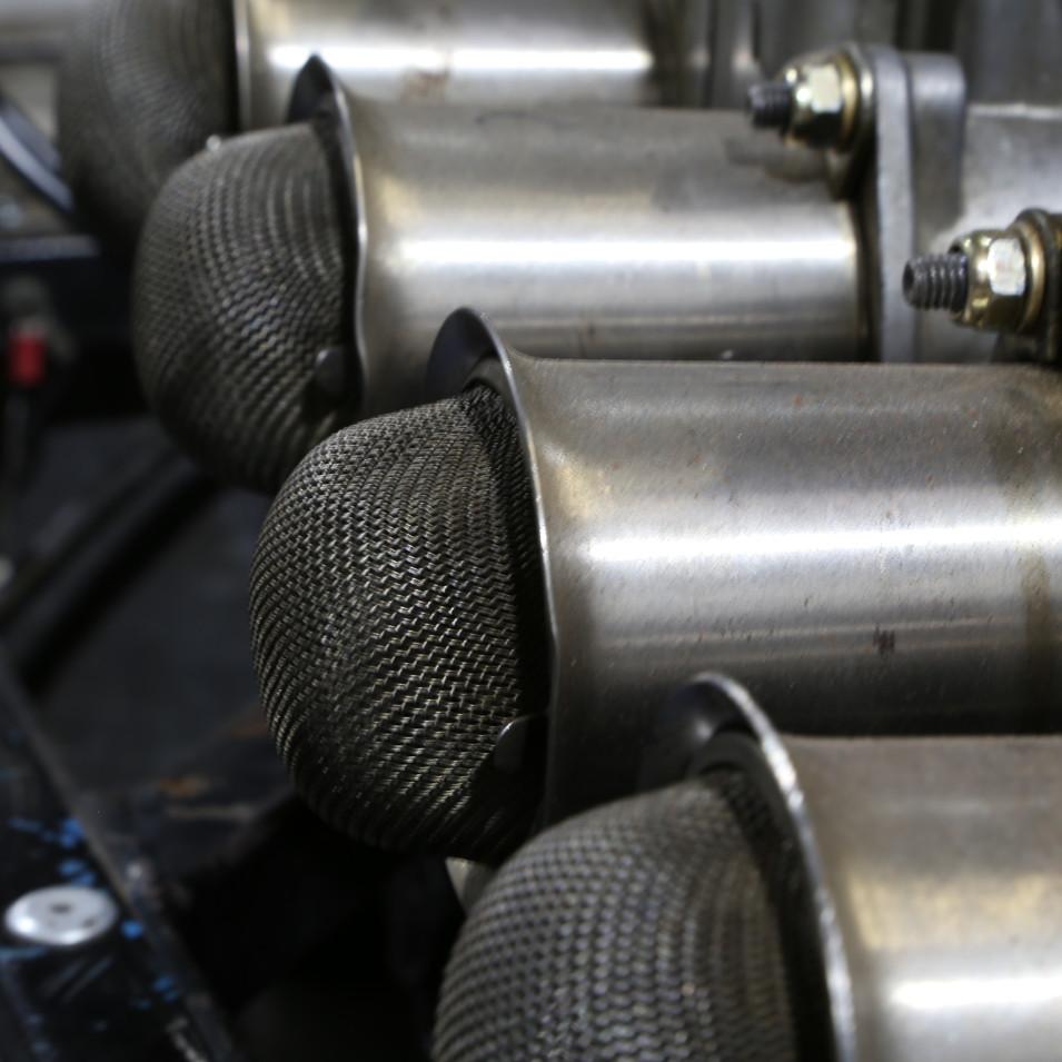 Carburettor trumpets