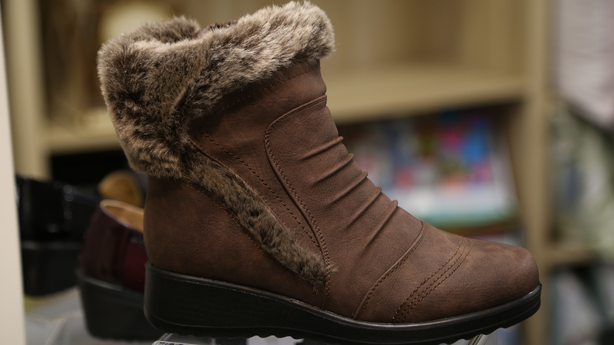 Brown boots £36