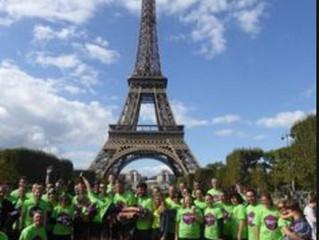 Colourchange uPVC sponsor London to Paris for St Elizabeth Hospice