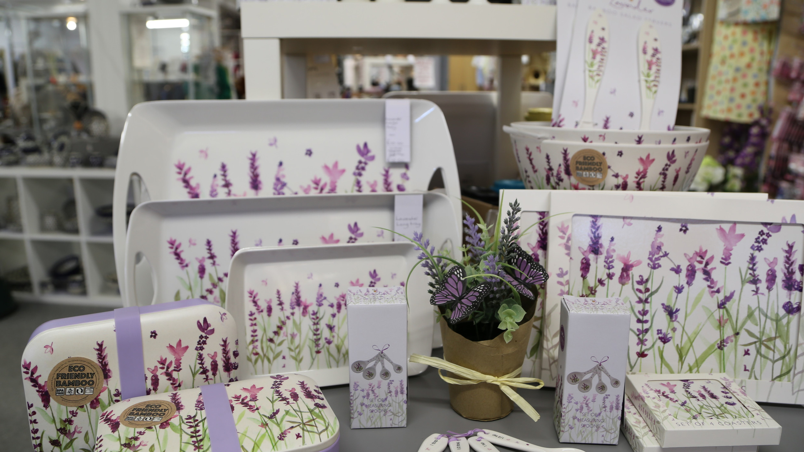 Lavender decorated items
