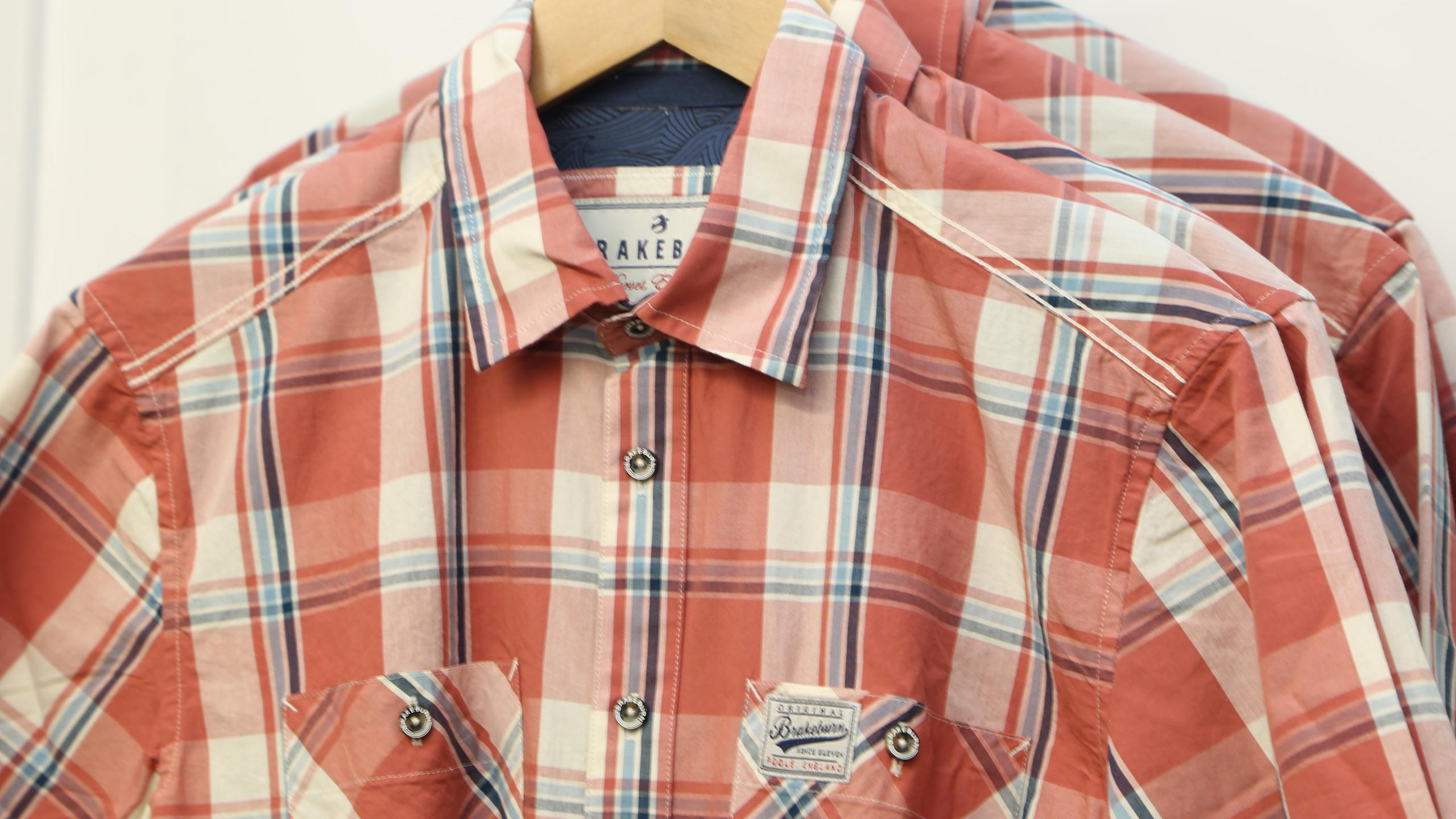 Checked Brakeburn Shirt