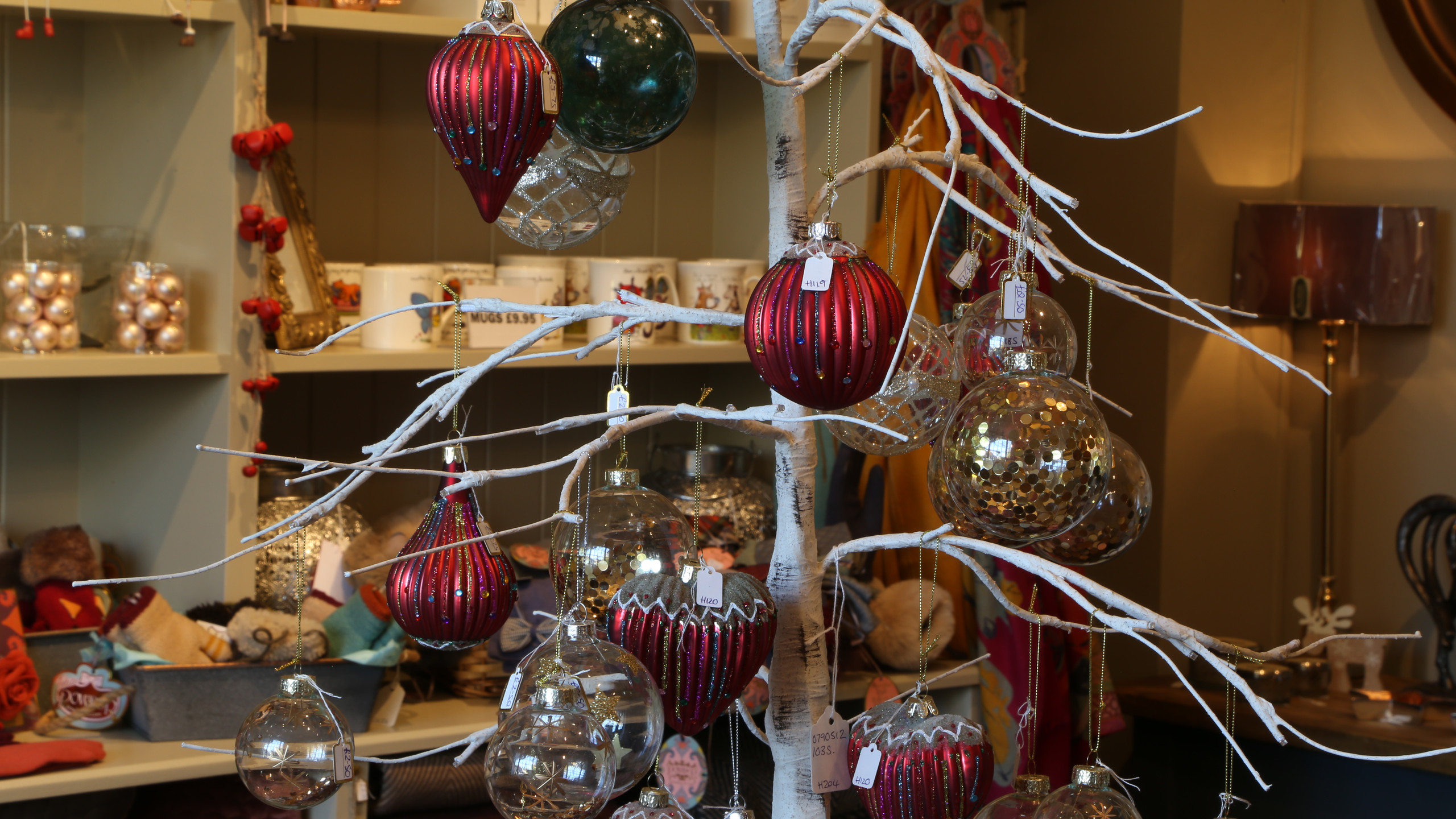 Decorations at Alison Home Furnishings