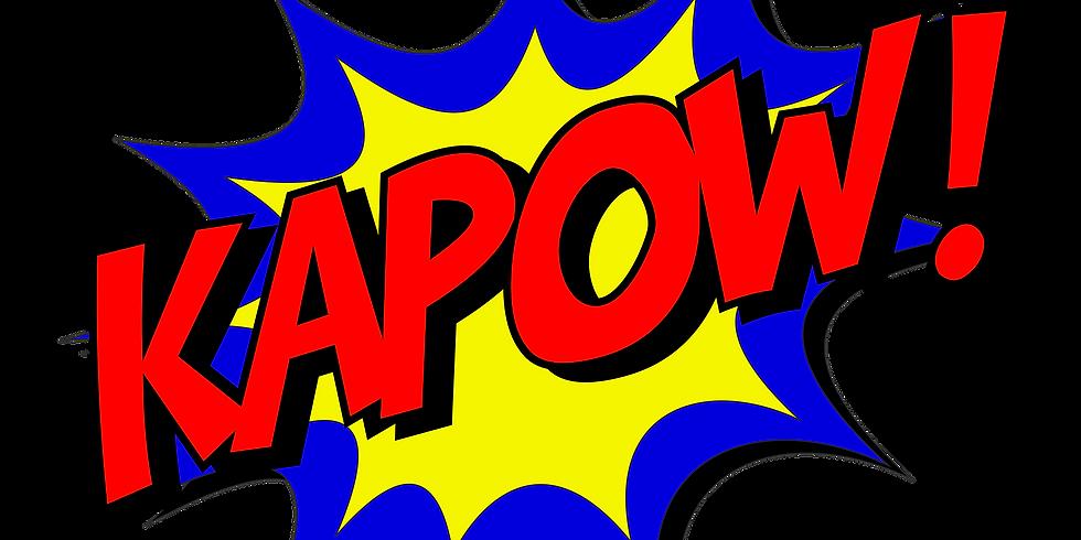 Kapow! Superhero Day at Easton Farm Park