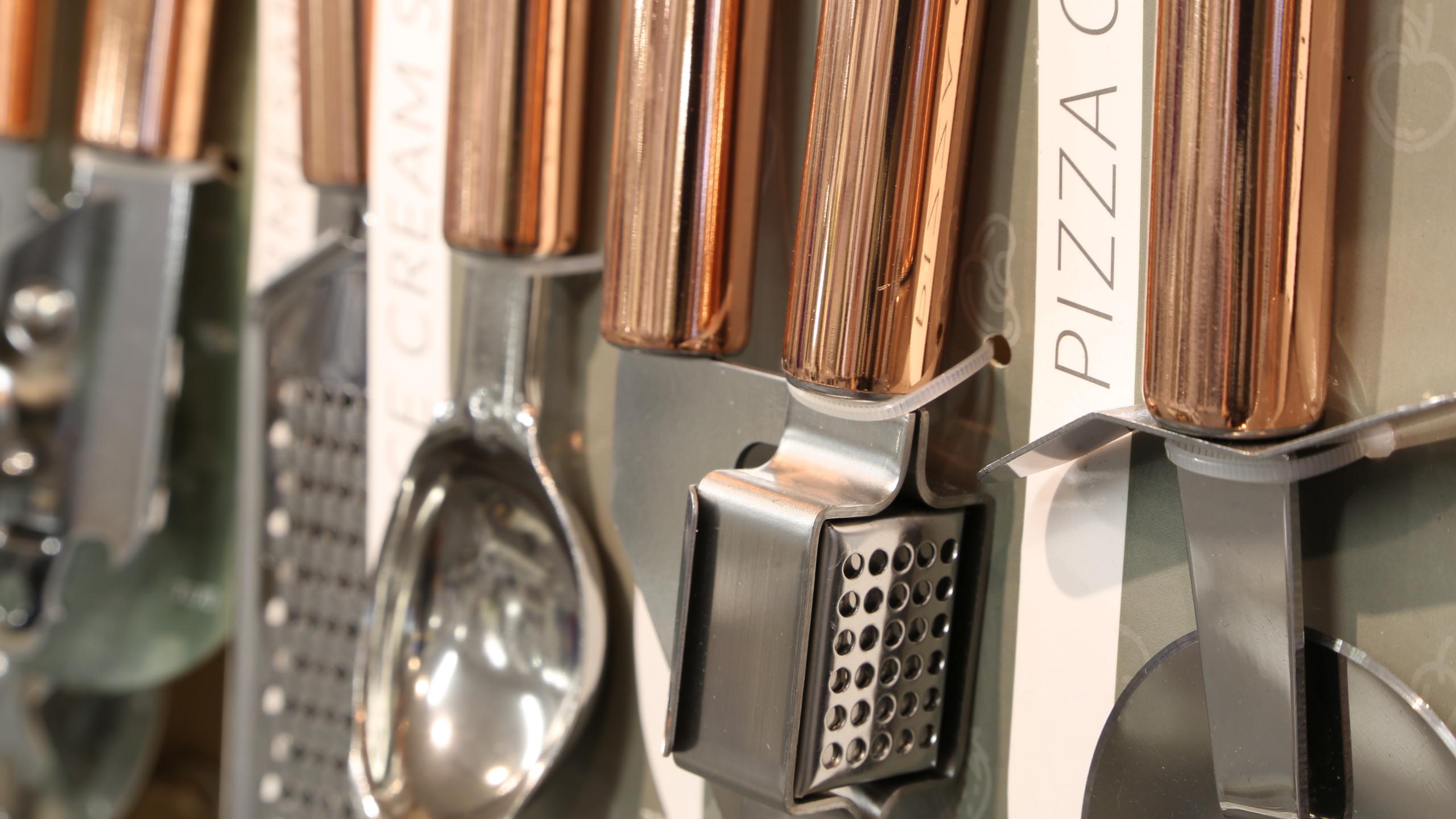 Kitchen ware copper utensils