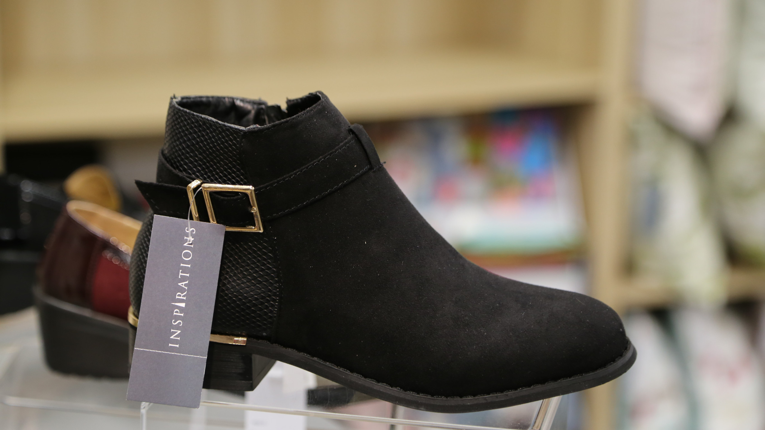 Black Chelsea boot £29