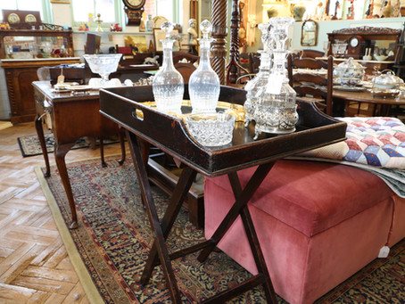 Butler Tray & Stand - £155
