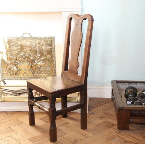 Rugged solid oak chair.JPG