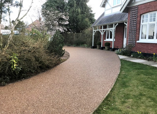 Resin driveways are the perfect solution