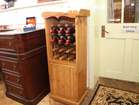 A wine rack for any room - SOLD