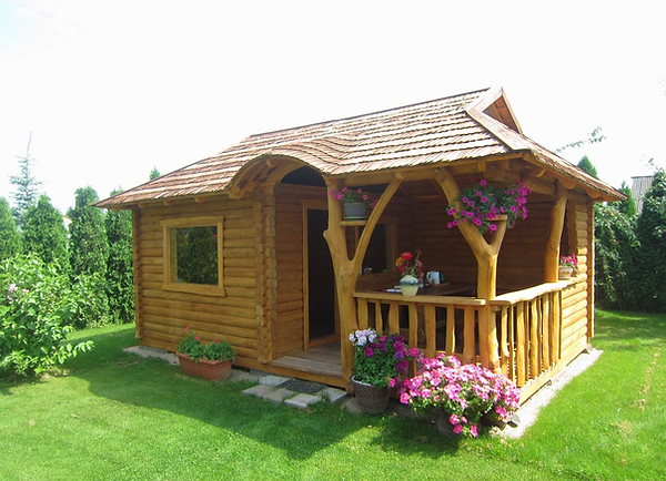 A sauna for your garden