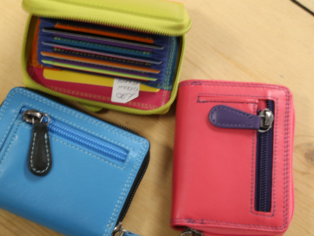 Colourful purses just £20