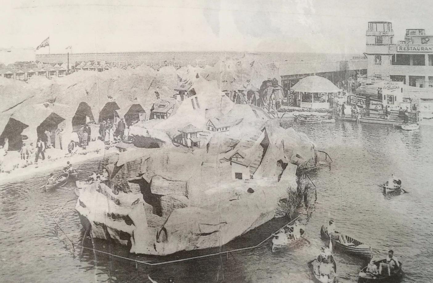 'Monkey Island', circa 1930's