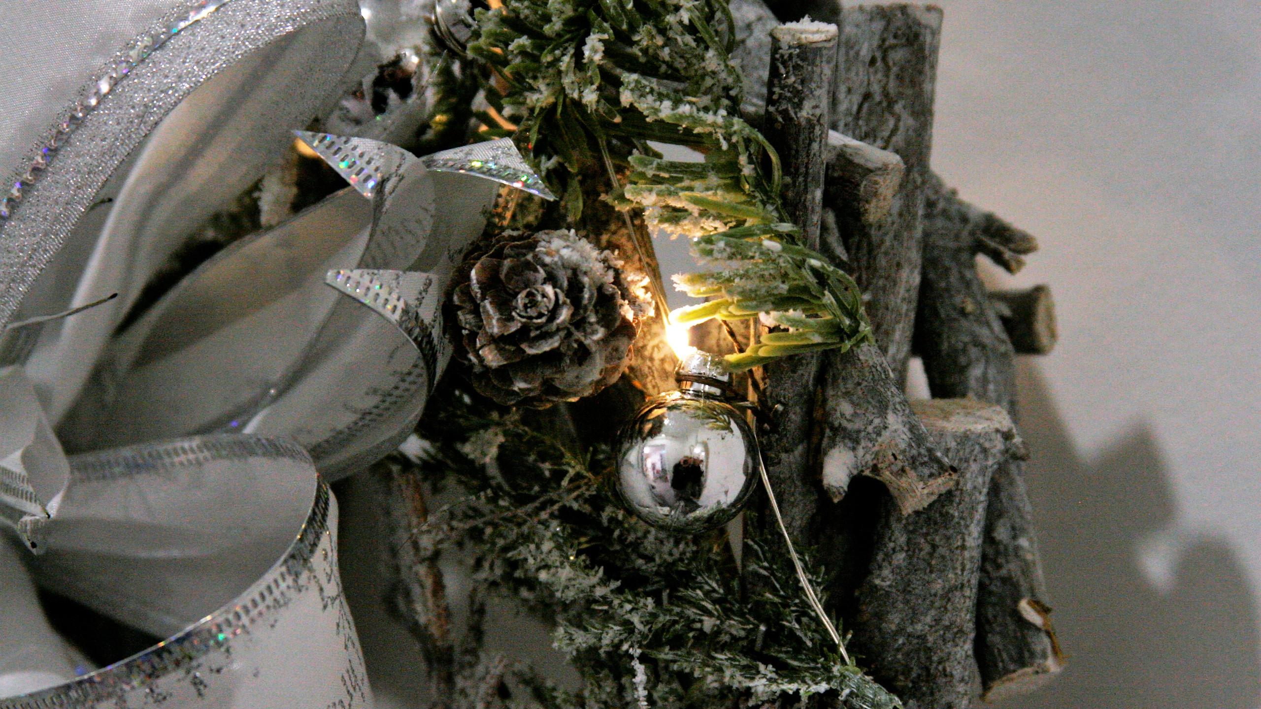 Christmas Wreath and bow