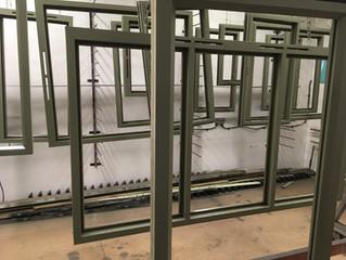 Flush fitting casement windows