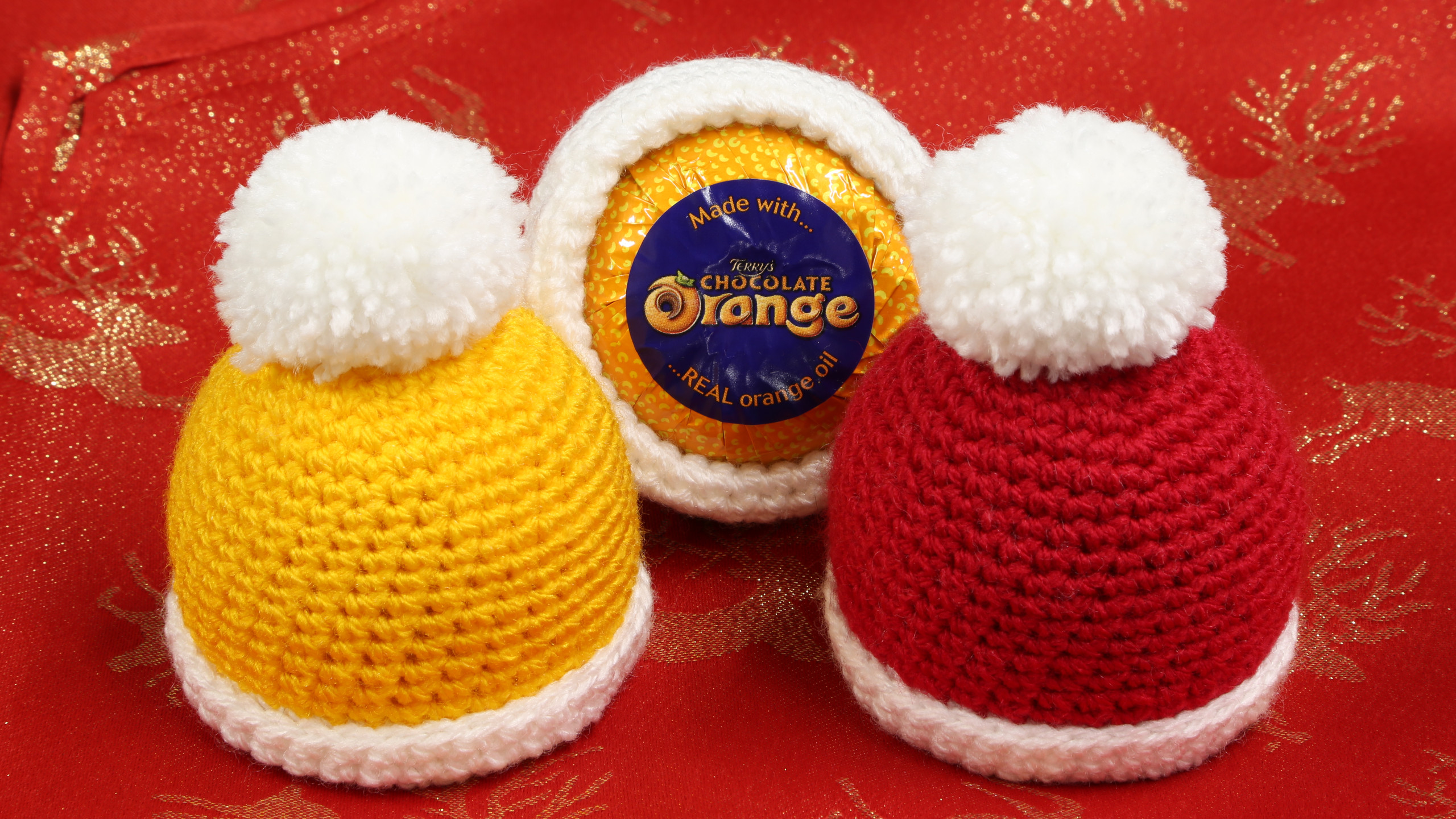 Chocolate orange hats