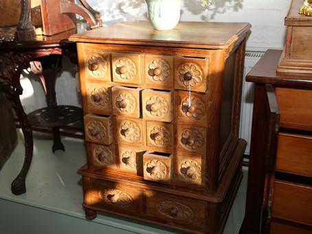 Wooden Storage Cabinet - SOLD