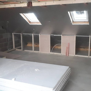 Loft Conversion Middle of project