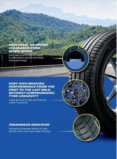 Michelin Primacy 4 Safety