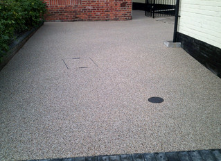 Another resin driveway completed
