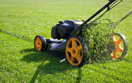 yellow wheel lawn mower.jpg