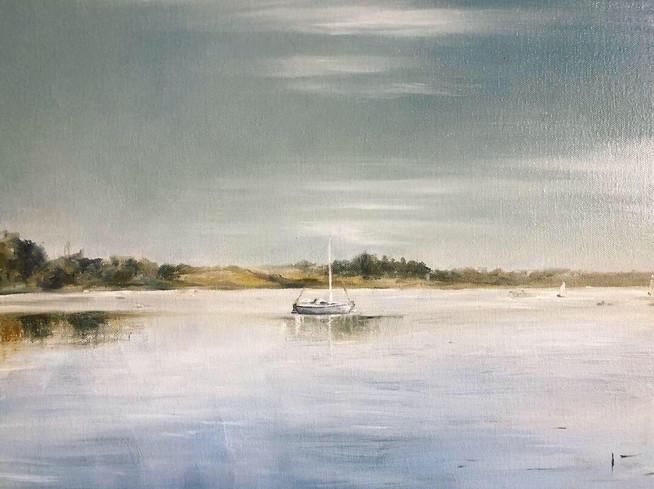 2019 Little boat on the River Deben