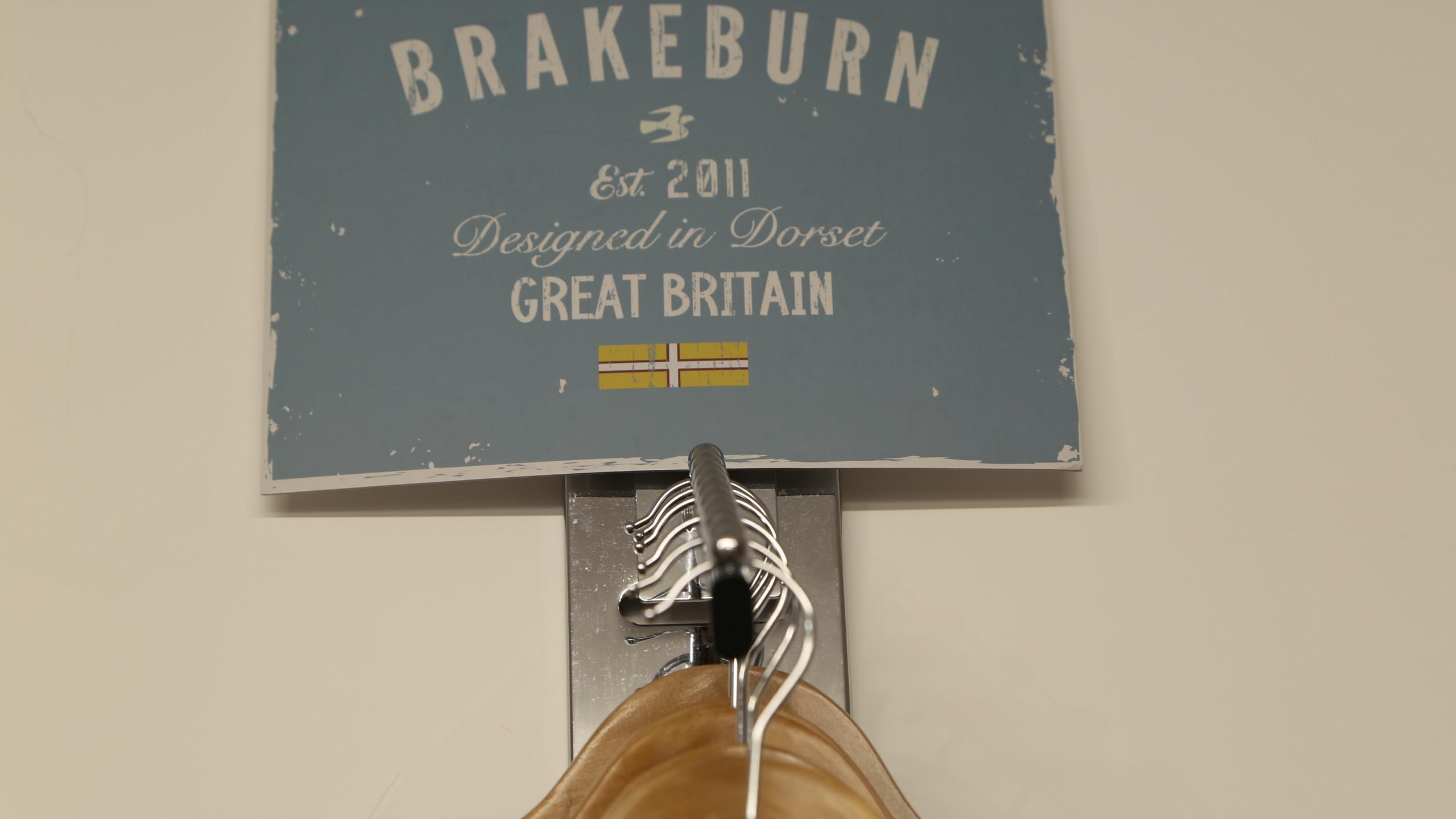 Brakeburn brand