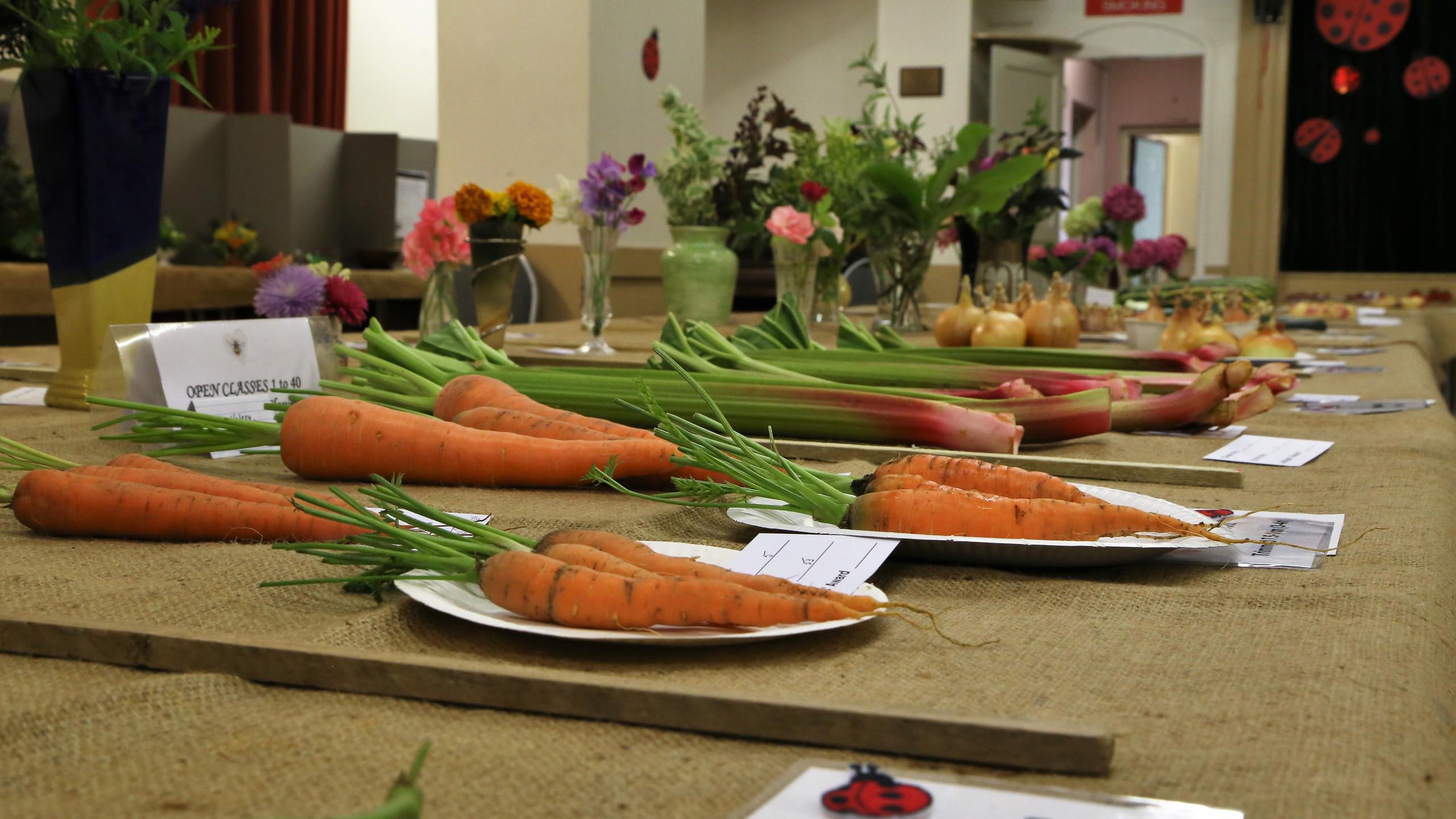 Local carrots