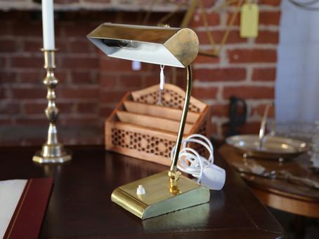 Brass Lamp - £25