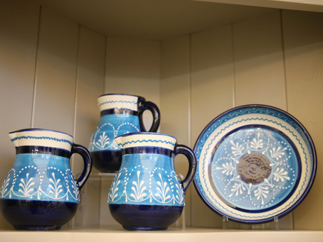 More pottery available at Inspiations in Wickham Market
