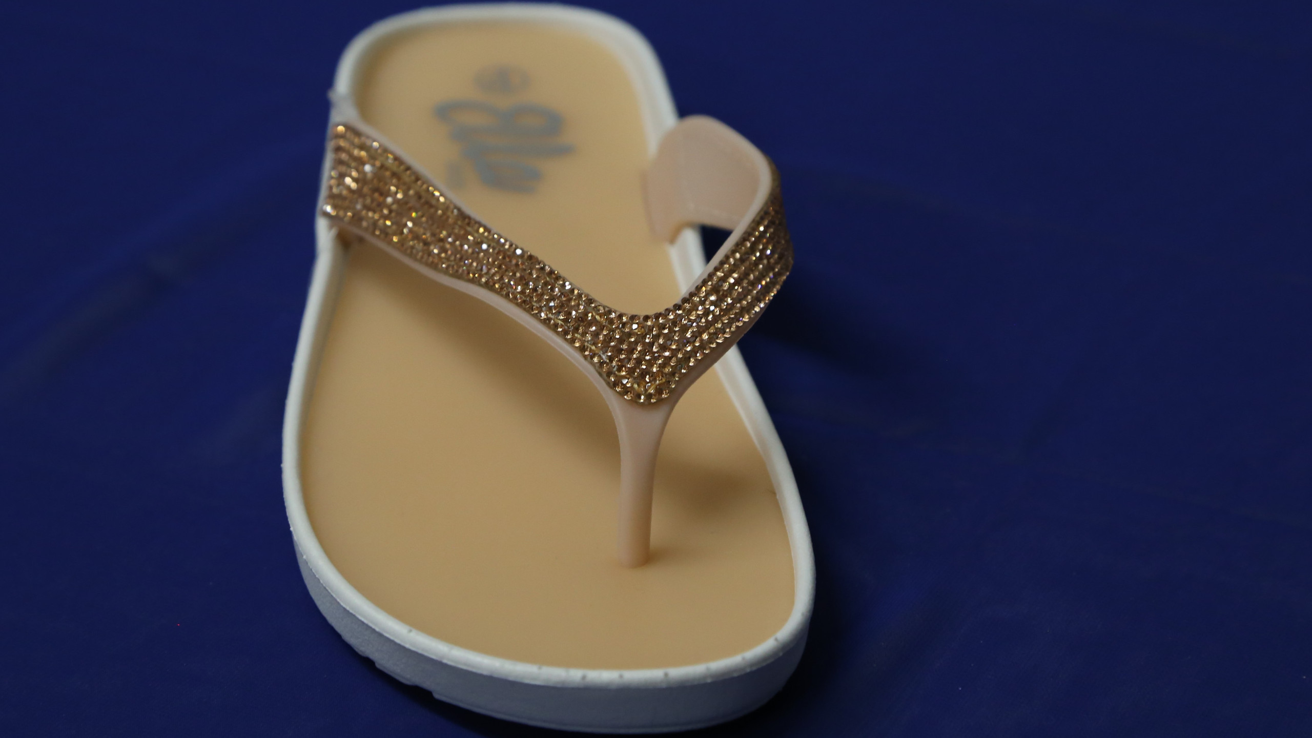Sadals with gold strap
