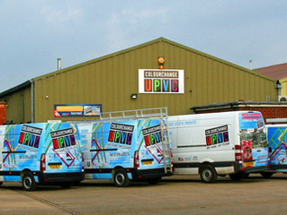 Window colouring company celebrates growth
