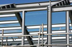 Solid modern steel work
