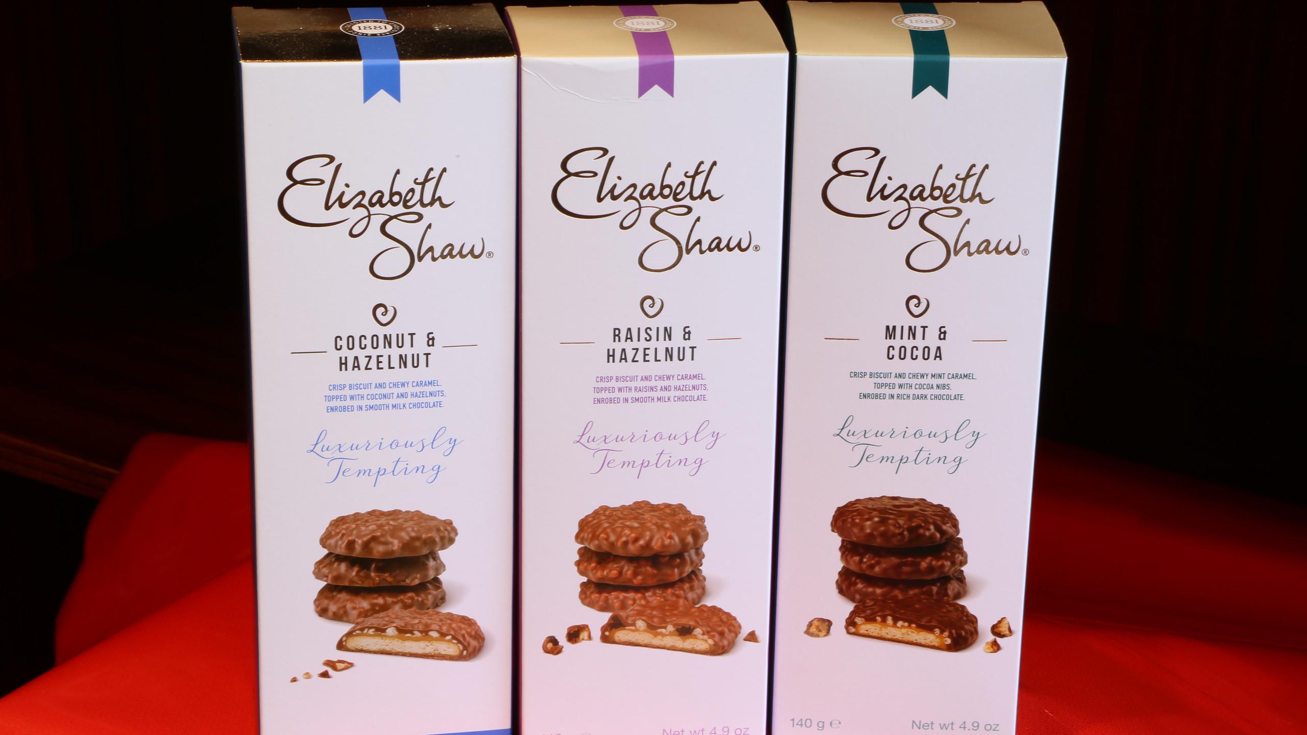 Elizabeth Shaw biscuits