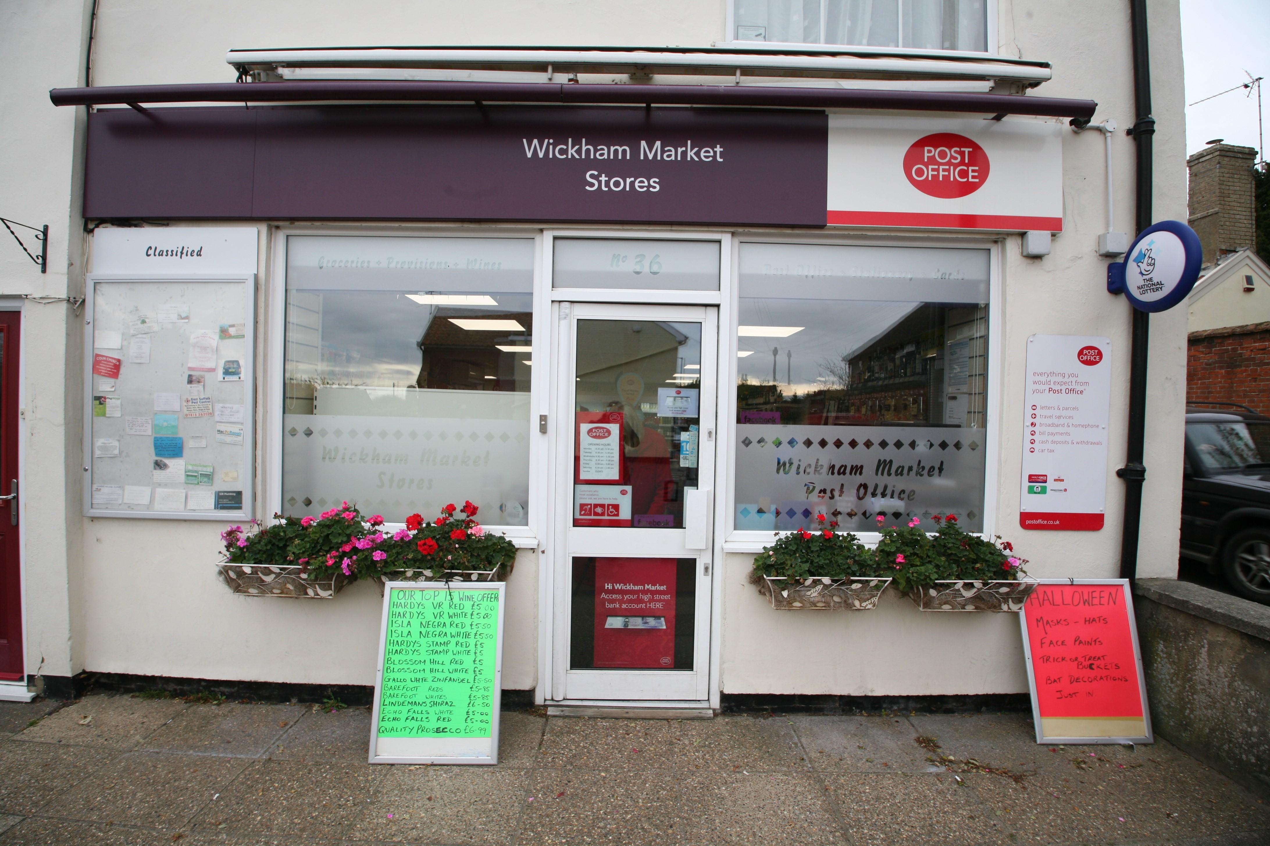 Wickham Market Stores & Post Office