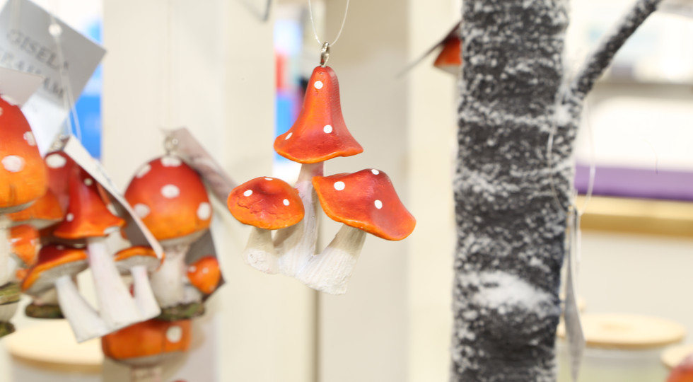 Toadstool Christmas Tree decoration
