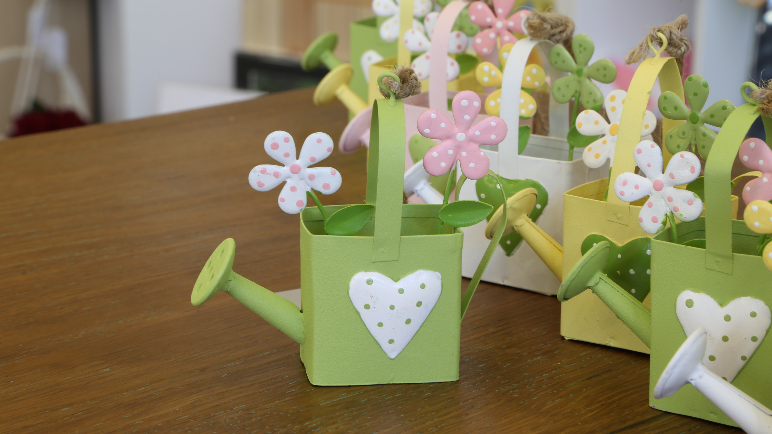 Easter watering cans