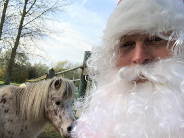 Santa and the pony