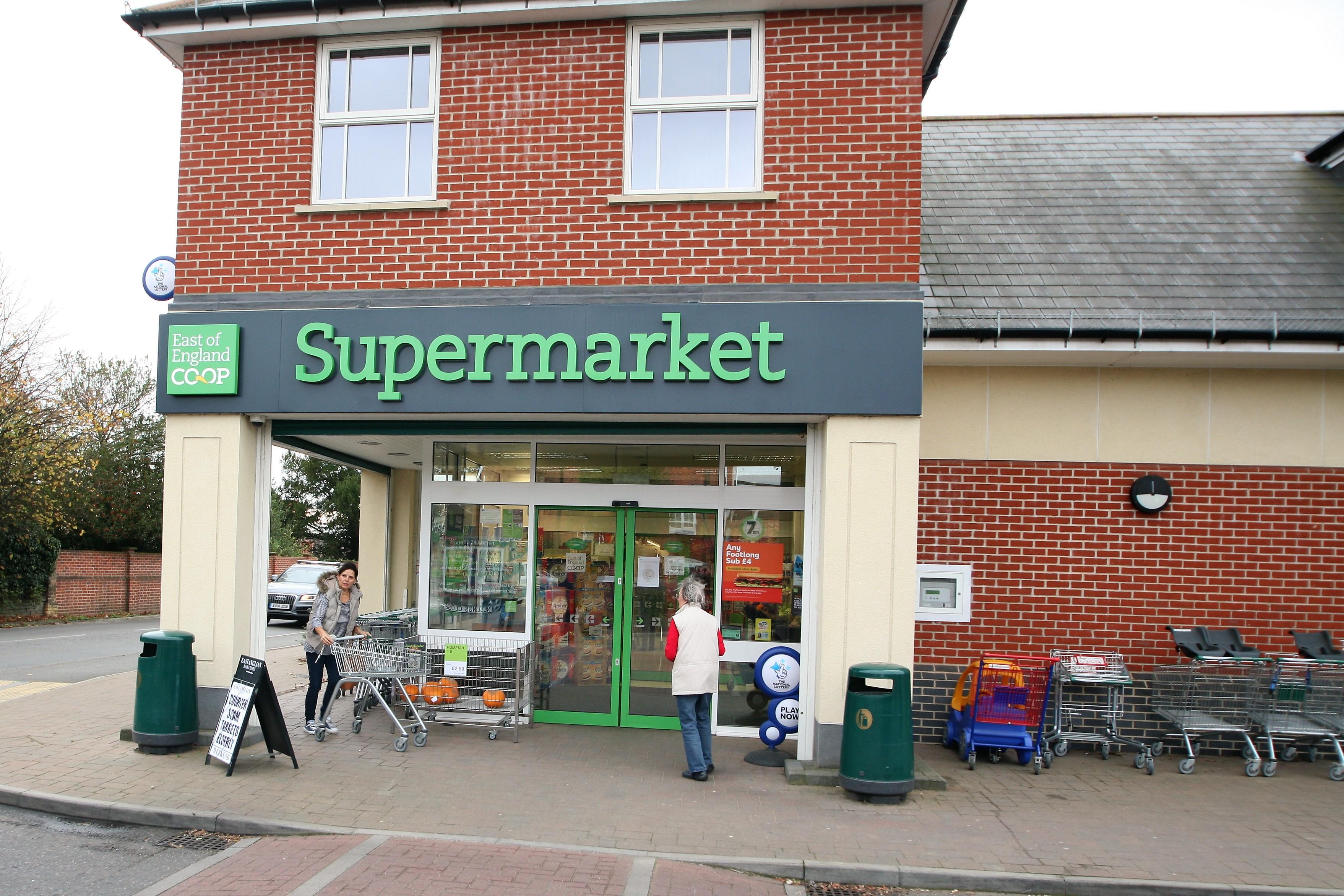 Co-op, Wickham Market, Suffolk