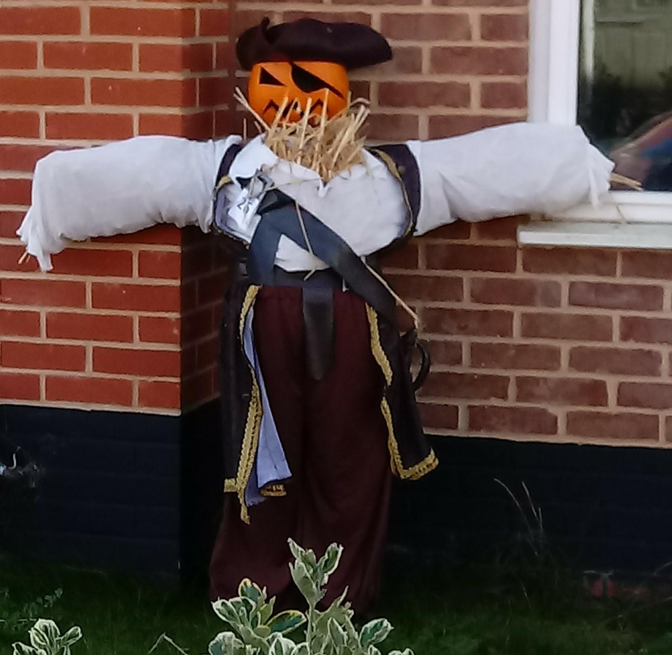 Pirate Scarecrow