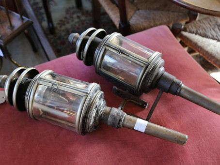 Pair of Carriage Lamps - £195